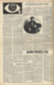 jimi hendrix newspaper 1969/berkeley barb april 11 1969