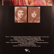 jimi hendrix rotily vinyl collector/electric ladyland france 1975