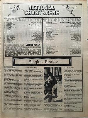 jimihedrix newspaper 1969/go: top 20 album smash hits N°8o