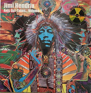 jimi hendrix bootlegs vinyls lps albums/axis out takes vol1 radioactives records