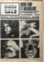 jimi endrix newspaper 1968/superlove 1968 November