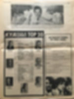 jimi hendrix newspaper collector/beat AD concerts  february 1,2,3  1968
