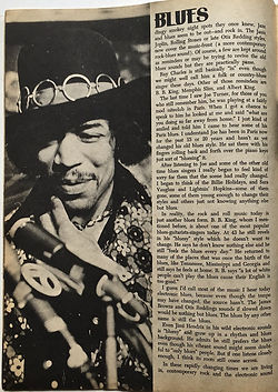 blues/ black music review 1969