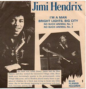 jimi hendrix vinyls single / ep collector/