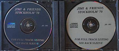jimi hendrix bootlegs cd / jimi hendrix come on stockholm 1970 2cd