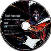jimi hendri collector bootlegs cd/disc 1/no more a rolling stone