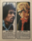 jimi hendrix magazines 1969/ top pops annual 1969