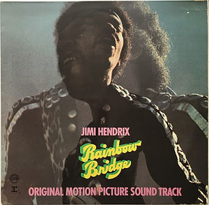 jimi hendrix vinyls albums/rainbow bridge club edition 1971 germany