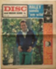 jim hendrix newspaper/may 11 1968 disc music echo: ad smash hits