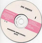jimi hendrix bootlegs cds 1970 / jimi hendrix live madison wisconsin 1970 2cd / disc 1