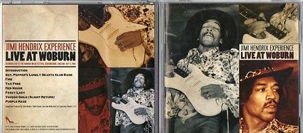 jimi hendrix cd bootlegs/live at woburn dagger records 2009