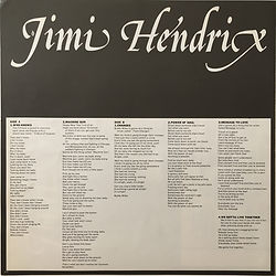 jimi hendrix collector vinyls/LPs/Album/band of gypsys  japan 1977