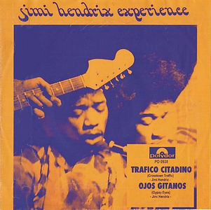 jimi hendrix single 1968 / mexico : cosstrown trafic