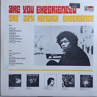 Are you experienced/rotily vinyl