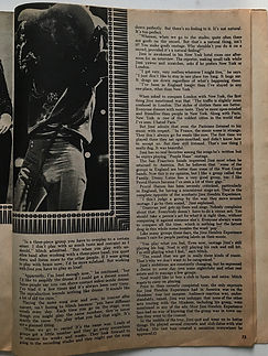 jimi hendrix magazine 1968/hit parader yearbook 1968