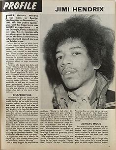 "jimi hendrix collector magazines/beat instrumental ""profile jimi hendrix"" september 1967"