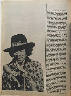 jimi henrix magazines 1969/hit parader 1969