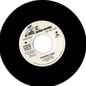 jimi hendrix band of gypsys collector singles vinyls/stepping stone promo reprise records 1970hendrix band of gypsys