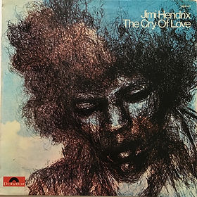 jimi hendrix vinyls albums/the cry of love 1978 france