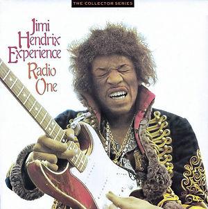 jimi hendrix vinyls album / radio one england the collector series