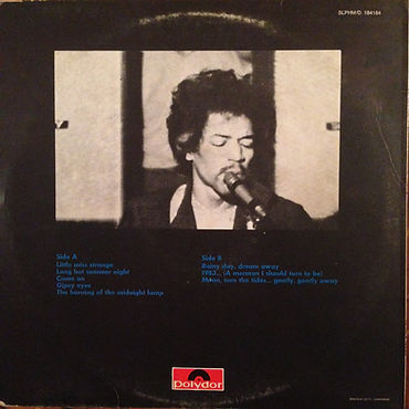 jimi hendrix rotily patrick vinyls collector/electric ladyland part 2