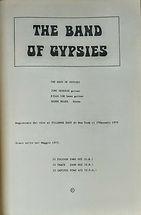 jimi hendrix book / complets lyrics