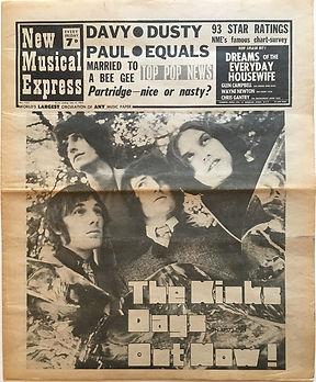 jimi hendrix newspaper/new musical expres july 6 1968