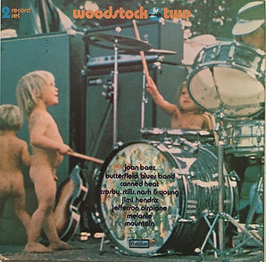 jimi hendrix vinyls album/woodstock two 1971