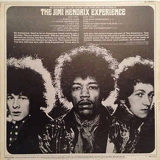 are you experienced fan club usa 1968 / jimi hendrix collector vinyls lp