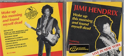 jimi hendrix cd / woke up this morning and found myself dead