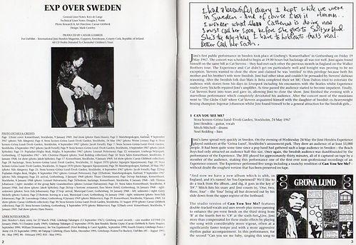 jimi hendrix collector cd bootleg/book exp over sweden univibes