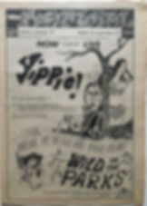 jimi hendix newspaper/spokane natural august 30 - 12 september 1968