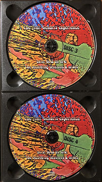 jimi hendrix collector bootlegs cd/axis bold as love/the recording sessions à mixes 4 cd/2016