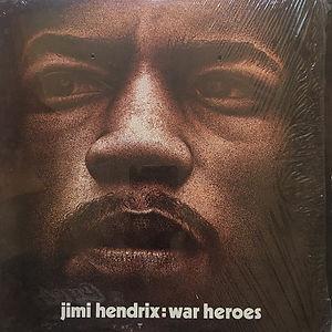 jimi hendrix albums vinyls/ war heroes  usa 1972