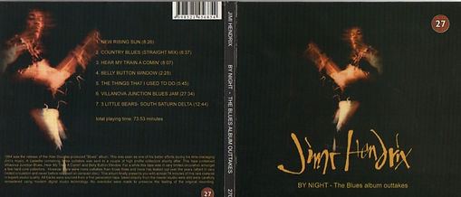 jimi hendrix bootlegs cds 1969/by night. the blue album outtakes