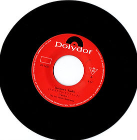 """jimi hendrix collector rotily vinyls singles 45t/7""""/ side A/crosstown traffic  japan polydor 06/1969"""