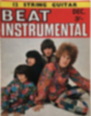 jimi hendrix magazine 1968/beat instrumental december 1968