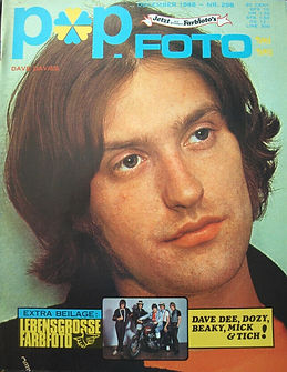 jimi hendrix magazine 1968/popfoto december 1968