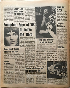 disc music echo january 25 1969