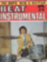 jimi hendrix magazine/beat instrumental april 1967