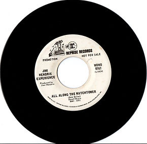 jimi hendrix collector singles vinyls/ all along the watchtower  reprise  usa 1968