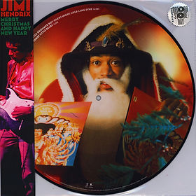 jimi hendrix family edition/ merry christmas  and happy new year