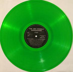 jimi hendrix collector lp 33t vinyls bootlegs/ fire swingin'pig records