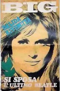 jimi hendrix magazines 1968/ ciao big jan. 19, 1968