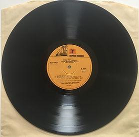 jimi hendrix album vinyls/rainbow bridge italy 1971 side2/lato 2
