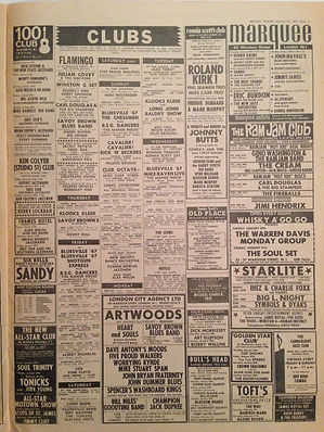 jimi hendrix newspapers collector 1967 /  melody maker 1967