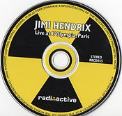 jimi hendrix bootlegs cds/ live at l'olympia paris / radioactive records