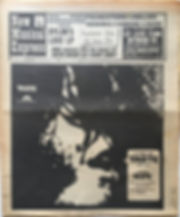jimi hendrix newspaper 1969/ new musical express april 19 1969/jimi ,hendrix shock: he wants to retire for a year!