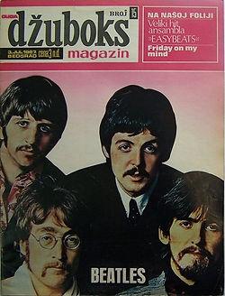 jimi hendrix collector magazine/dzuboks july1967 yougoslavia/hendrix article/photo