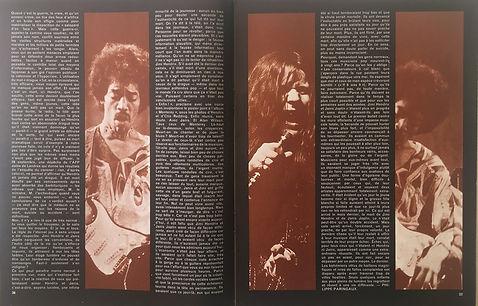 jimi hendrix magazines 1970 death/ rock & folk : november1970